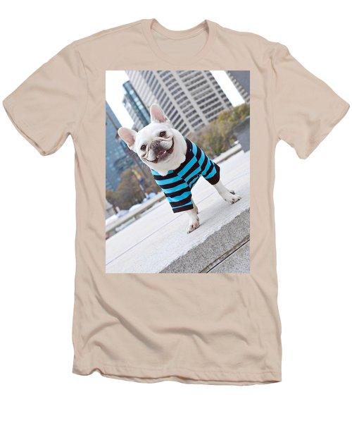 Men's T-Shirt (Slim Fit) featuring the photograph Cornnut by Lisa Phillips