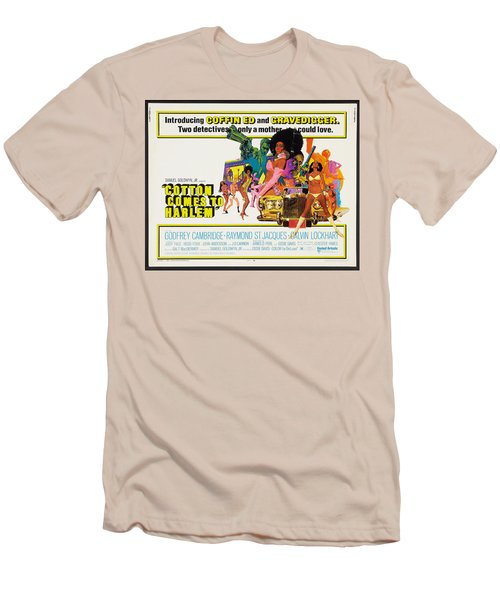 Cotton Comes To Harlem Poster Men's T-Shirt (Slim Fit) by Gianfranco Weiss