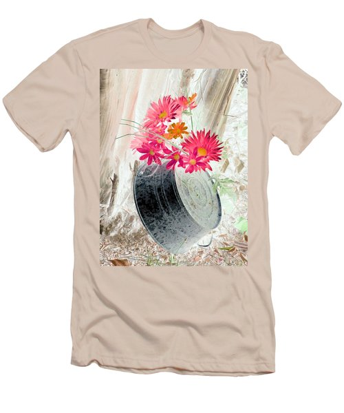 Country Summer - Photopower 1499 Men's T-Shirt (Athletic Fit)