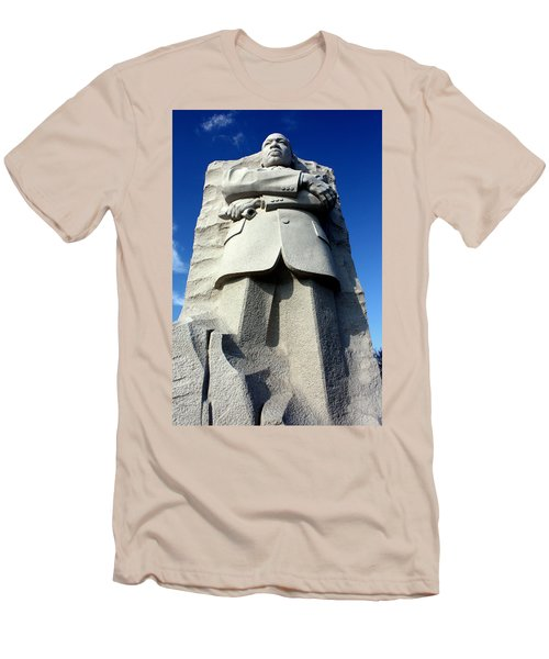 Men's T-Shirt (Slim Fit) featuring the photograph Courage by Suzanne Stout