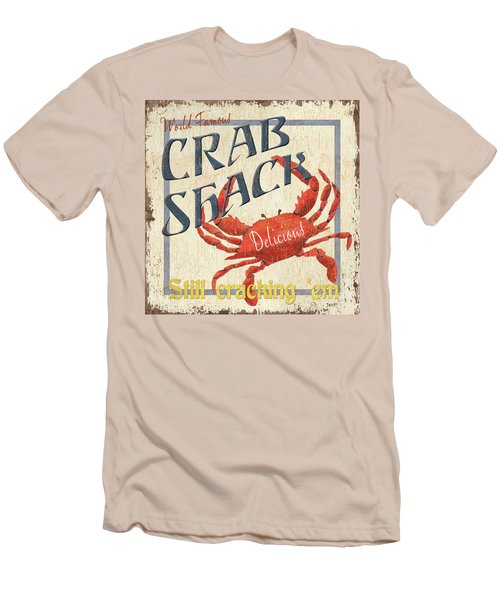 Crab Shack Men's T-Shirt (Athletic Fit)