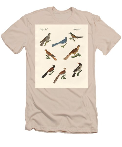 Cuckoos From Various Countries Men's T-Shirt (Slim Fit) by Splendid Art Prints