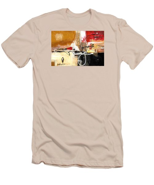 Cultural Abstractions - Hattie Mcdaniels Men's T-Shirt (Slim Fit) by Everett Spruill