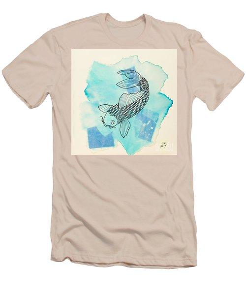 Cyprinus Carpio Men's T-Shirt (Slim Fit)