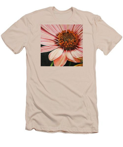 Daisy In Pink Men's T-Shirt (Athletic Fit)