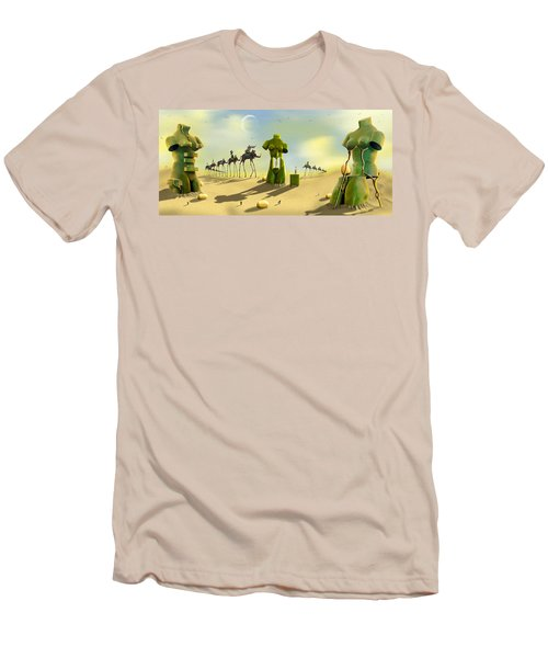 Daliland Park - Panoramic Men's T-Shirt (Athletic Fit)