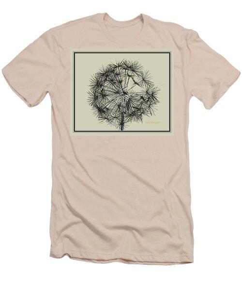 Dandelion 6 Men's T-Shirt (Slim Fit) by Kathy Barney