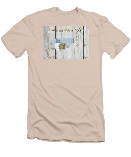 Deer Lease Dilemma Men's T-Shirt (Athletic Fit)