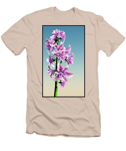 Delicate Flower... Men's T-Shirt (Athletic Fit)