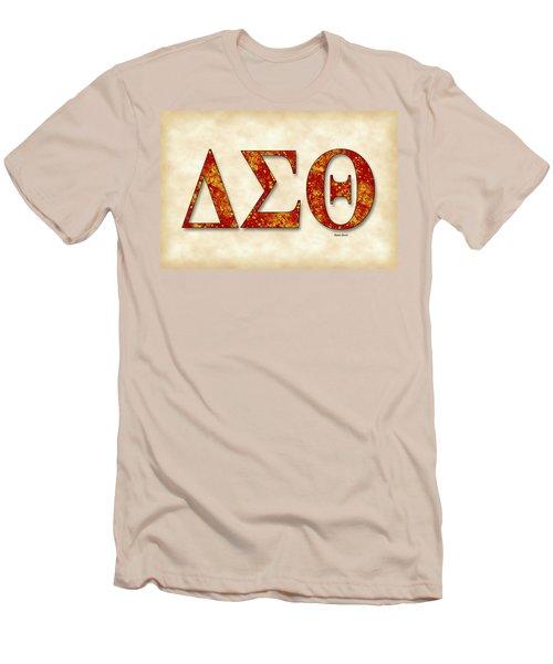 Delta Sigma Theta - Parchment Men's T-Shirt (Slim Fit) by Stephen Younts