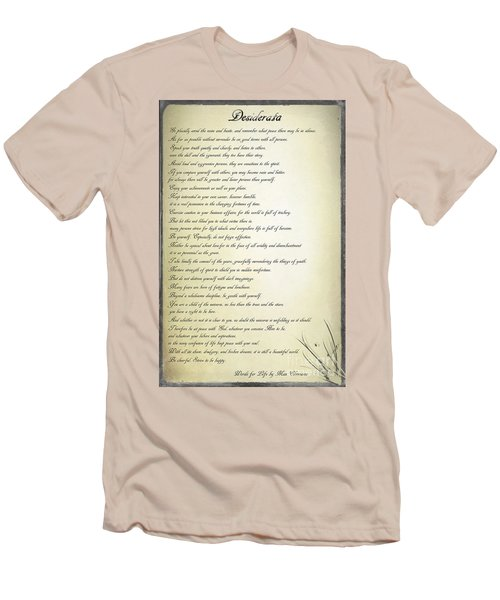 Desiderata 2 Men's T-Shirt (Athletic Fit)