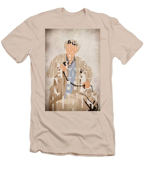 Doc. Brown Men's T-Shirt (Athletic Fit)