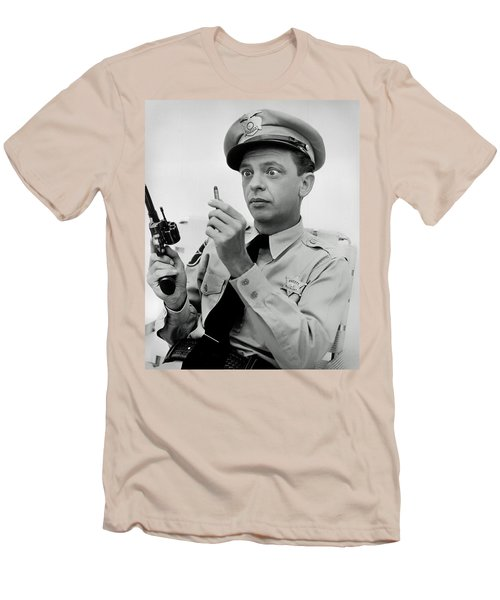 Barney Fife - Don Knotts Men's T-Shirt (Slim Fit) by Mountain Dreams