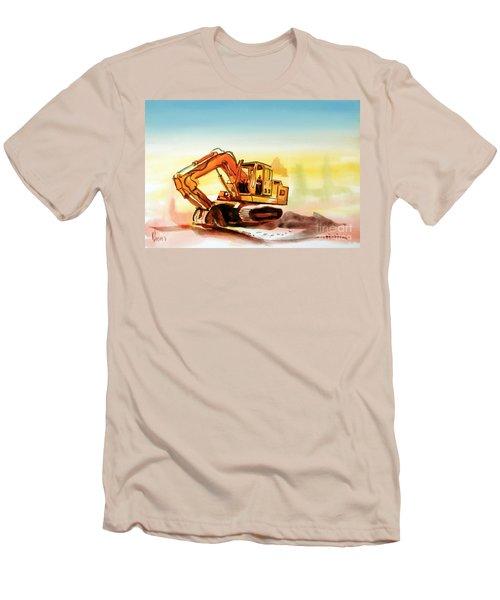 Dozer October Men's T-Shirt (Slim Fit) by Kip DeVore