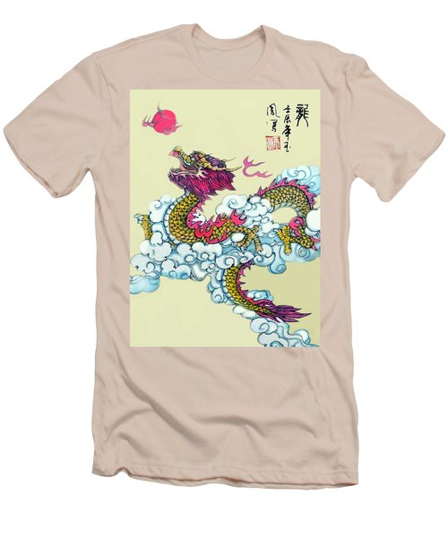 Men's T-Shirt (Slim Fit) featuring the photograph Dragon by Yufeng Wang
