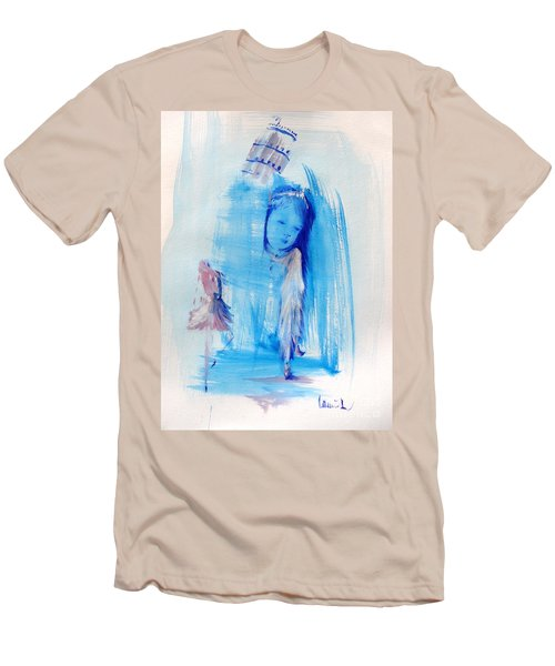 Dreaming Of Pisa Men's T-Shirt (Slim Fit) by Laurie L