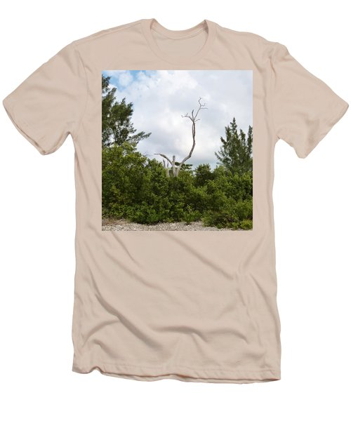 Men's T-Shirt (Slim Fit) featuring the photograph Druid Dance by Amar Sheow