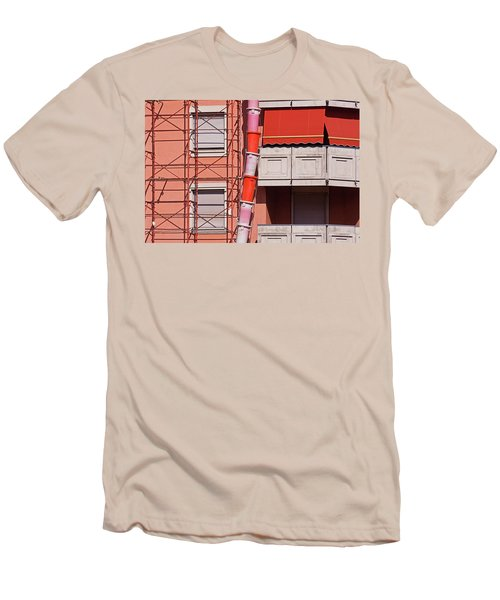 Drum Snake Men's T-Shirt (Athletic Fit)