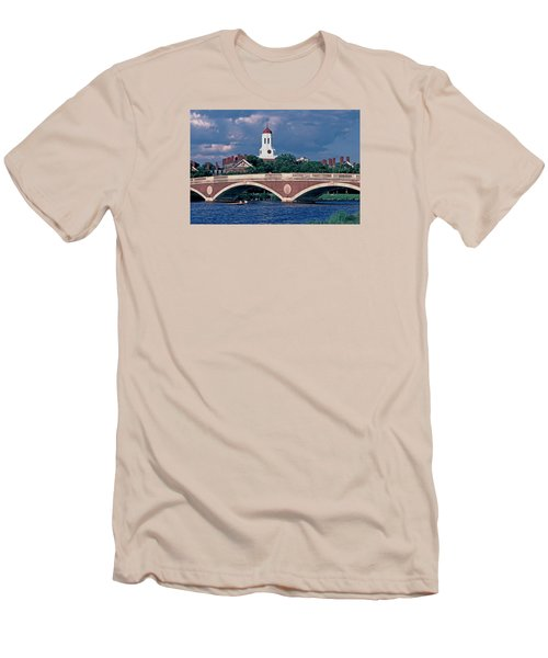 Weeks Bridge Charles River Men's T-Shirt (Athletic Fit)