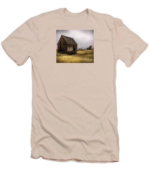 Earthly Possessions Men's T-Shirt (Slim Fit) by Jean OKeeffe Macro Abundance Art