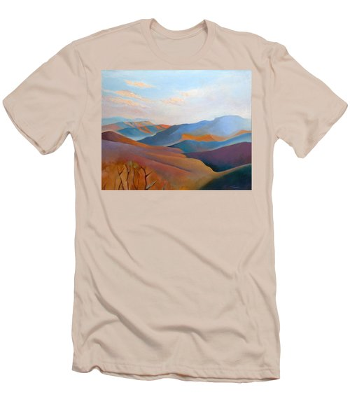 East Fall Blue Ridge No.3 Men's T-Shirt (Slim Fit) by Catherine Twomey