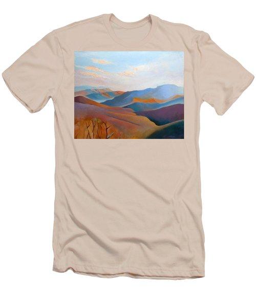 East Fall Blue Ridge No.3 Men's T-Shirt (Athletic Fit)