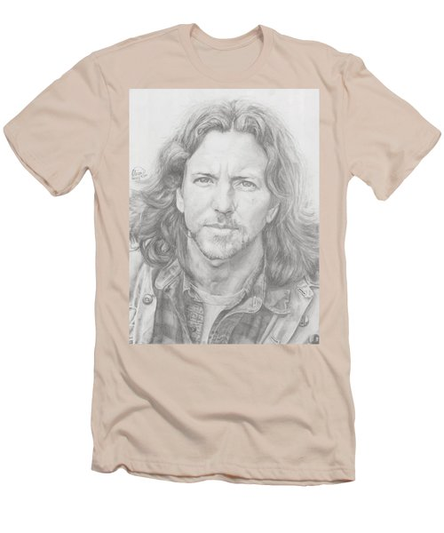 Eddie Vedder Men's T-Shirt (Slim Fit) by Olivia Schiermeyer