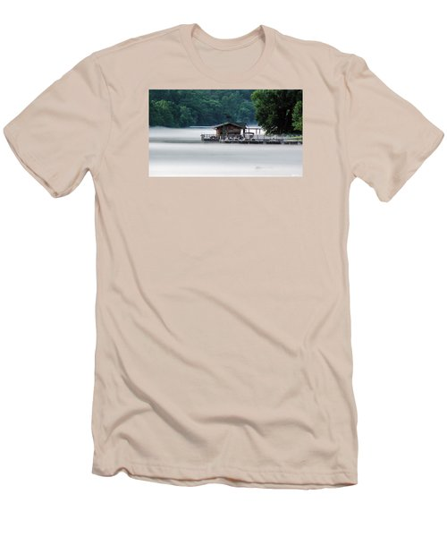 Men's T-Shirt (Slim Fit) featuring the photograph Eerie Day by Elaine Malott