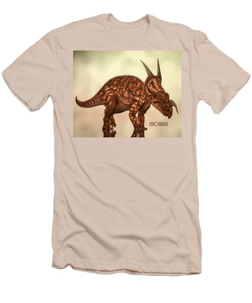 Einiosaurus Men's T-Shirt (Slim Fit) by Bob Orsillo