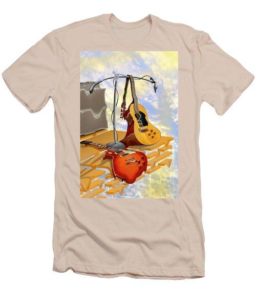 Electrical Meltdown Men's T-Shirt (Slim Fit) by Mike McGlothlen