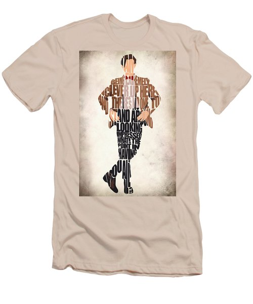 Eleventh Doctor - Doctor Who Men's T-Shirt (Athletic Fit)