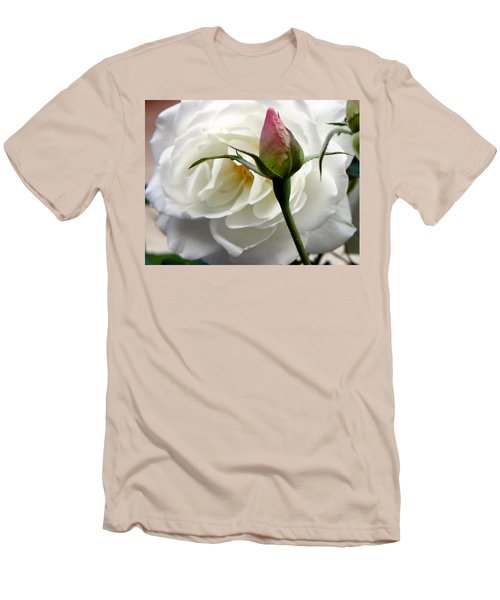 Men's T-Shirt (Slim Fit) featuring the photograph Emergence by Deb Halloran