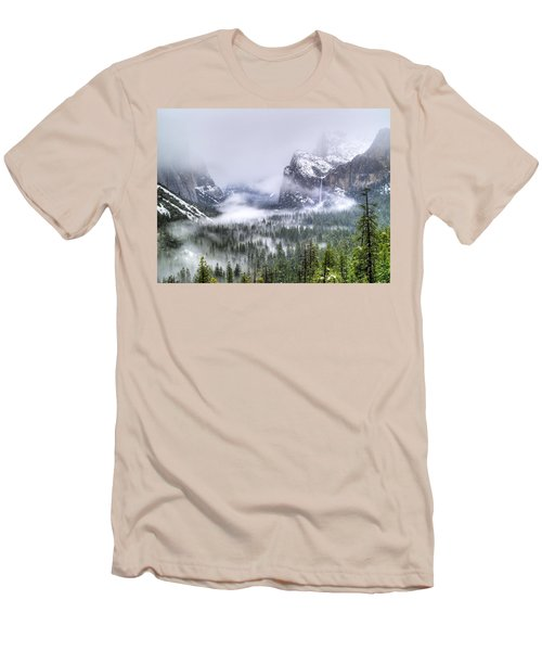 Enchanted Valley Men's T-Shirt (Slim Fit) by Bill Gallagher