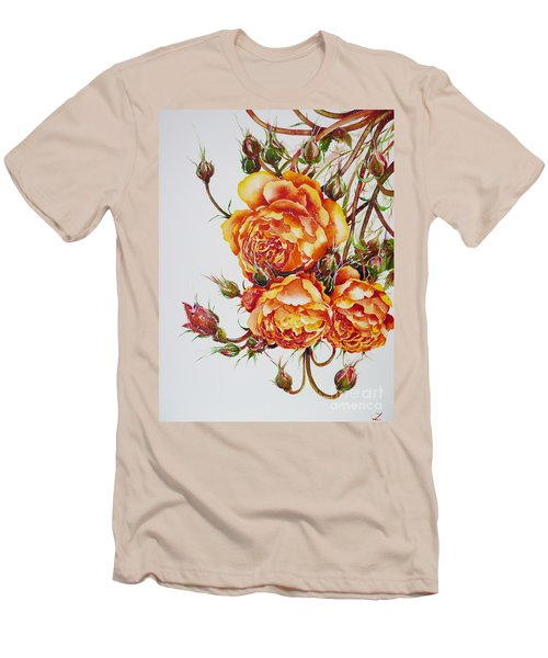 English Roses Men's T-Shirt (Athletic Fit)