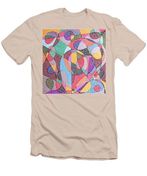 Convergence Men's T-Shirt (Slim Fit) by Kruti Shah