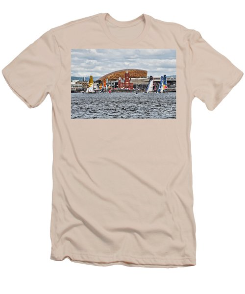 Extreme 40 At Cardiff Bay Men's T-Shirt (Slim Fit)