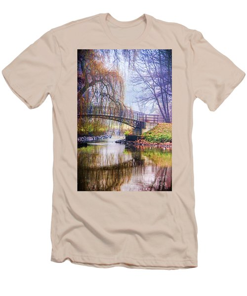 Fairytale Bridge Men's T-Shirt (Athletic Fit)