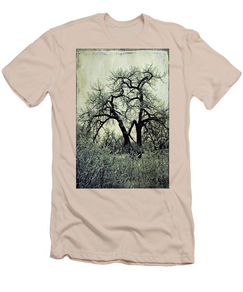 Faith Men's T-Shirt (Slim Fit) by Leanna Lomanski
