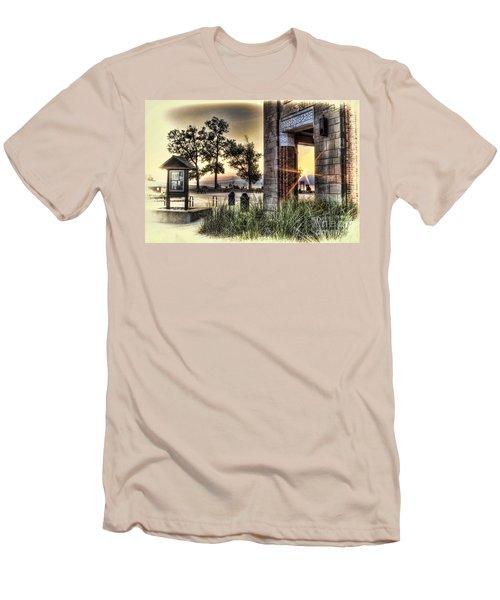 Falling Star Men's T-Shirt (Athletic Fit)