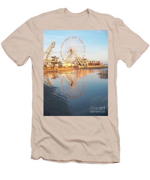 Ferris Wheel Jersey Shore 2 Men's T-Shirt (Athletic Fit)