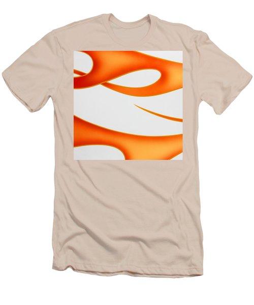 Men's T-Shirt (Slim Fit) featuring the photograph Firey Orange by Joe Kozlowski