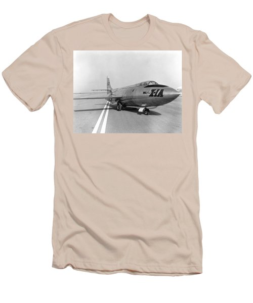 Men's T-Shirt (Slim Fit) featuring the photograph First Supersonic Aircraft, Bell X-1 by Science Source