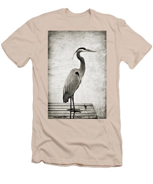 Fishing From The Dock Men's T-Shirt (Athletic Fit)