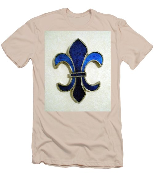 Men's T-Shirt (Slim Fit) featuring the photograph Fleur De Lis by Joseph Baril