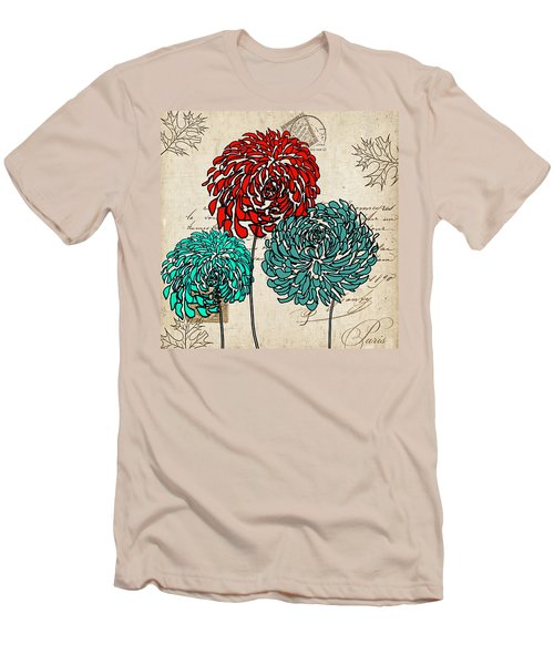 Floral Delight Iv Men's T-Shirt (Athletic Fit)