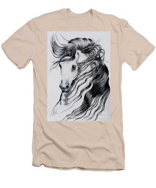 Florentino Constantnoble-what Dreams Are Made Of Men's T-Shirt (Slim Fit) by Cheryl Poland