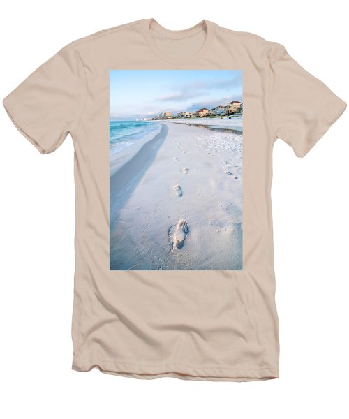 Florida Beach Scene Men's T-Shirt (Athletic Fit)