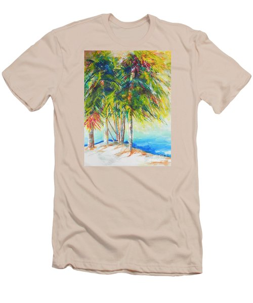 Florida Inspiration  Men's T-Shirt (Slim Fit) by Chrisann Ellis
