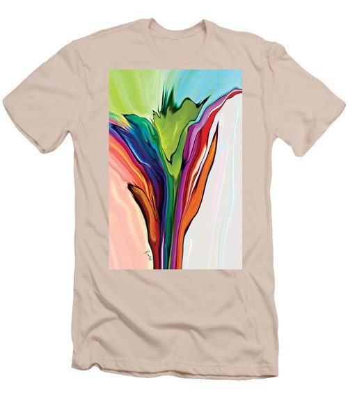 Flowery 5 Men's T-Shirt (Athletic Fit)