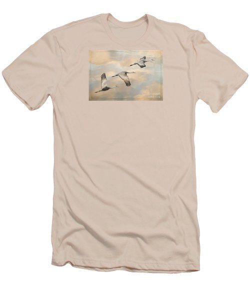 Fly Away Men's T-Shirt (Slim Fit) by Alice Cahill